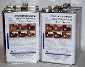 Two 2 Gallon Kits of Clear Penetrating Epoxy Sealer