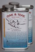 Oak and Teak Epoxy Photograph